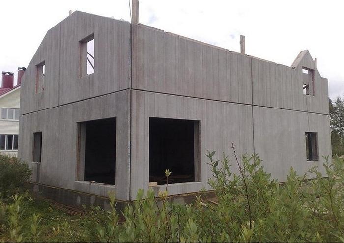 дом из железобетонных панелей 2