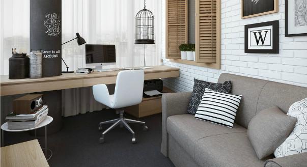 домашний кабинет стиль 3