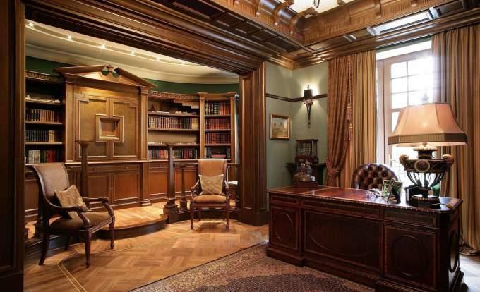 домашний кабинет стиль