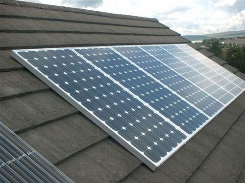 домашняя солнечная батарея