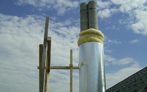 дымоход асбестоцементная труба 2