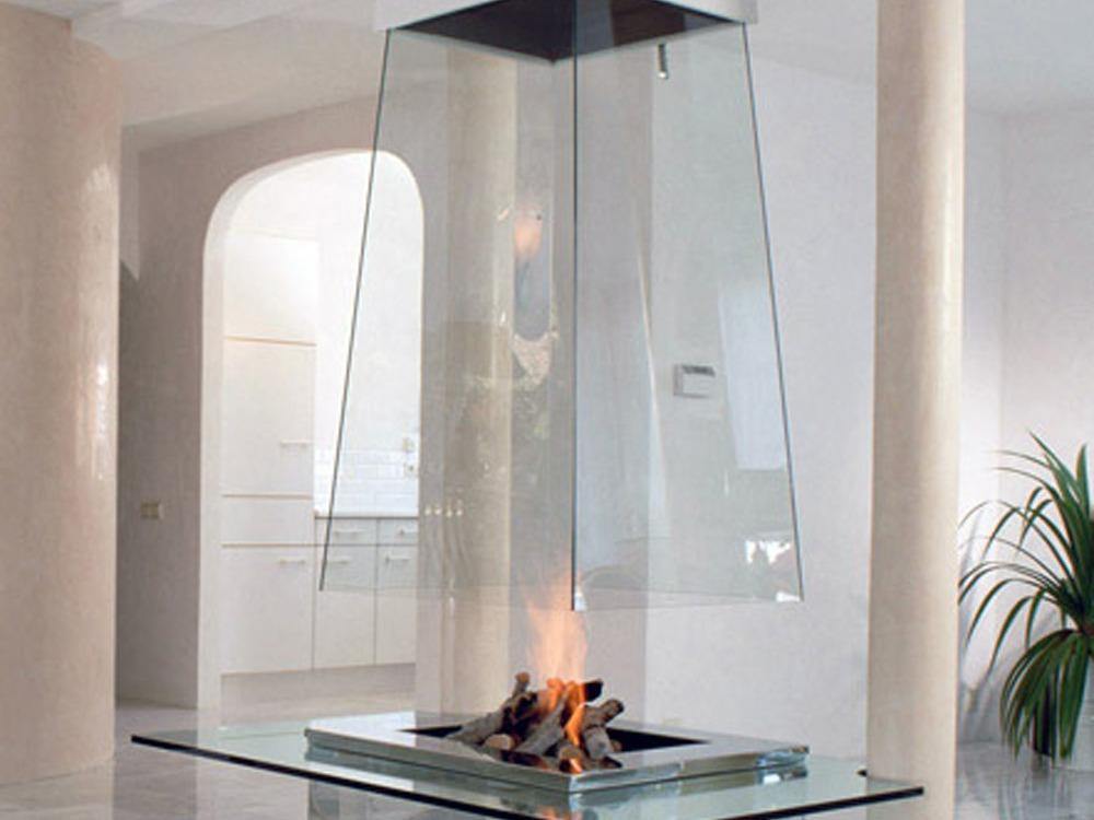 дымоход стеклянная труба