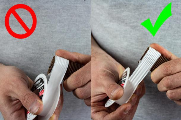 Как наматывать ФУМ-ленту на резьбу - этап 4