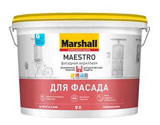 фасадная краска Marshall