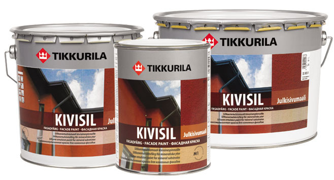 фасадная краска Tikkurila