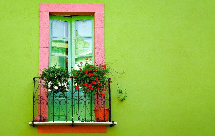 фасадная краска цвет