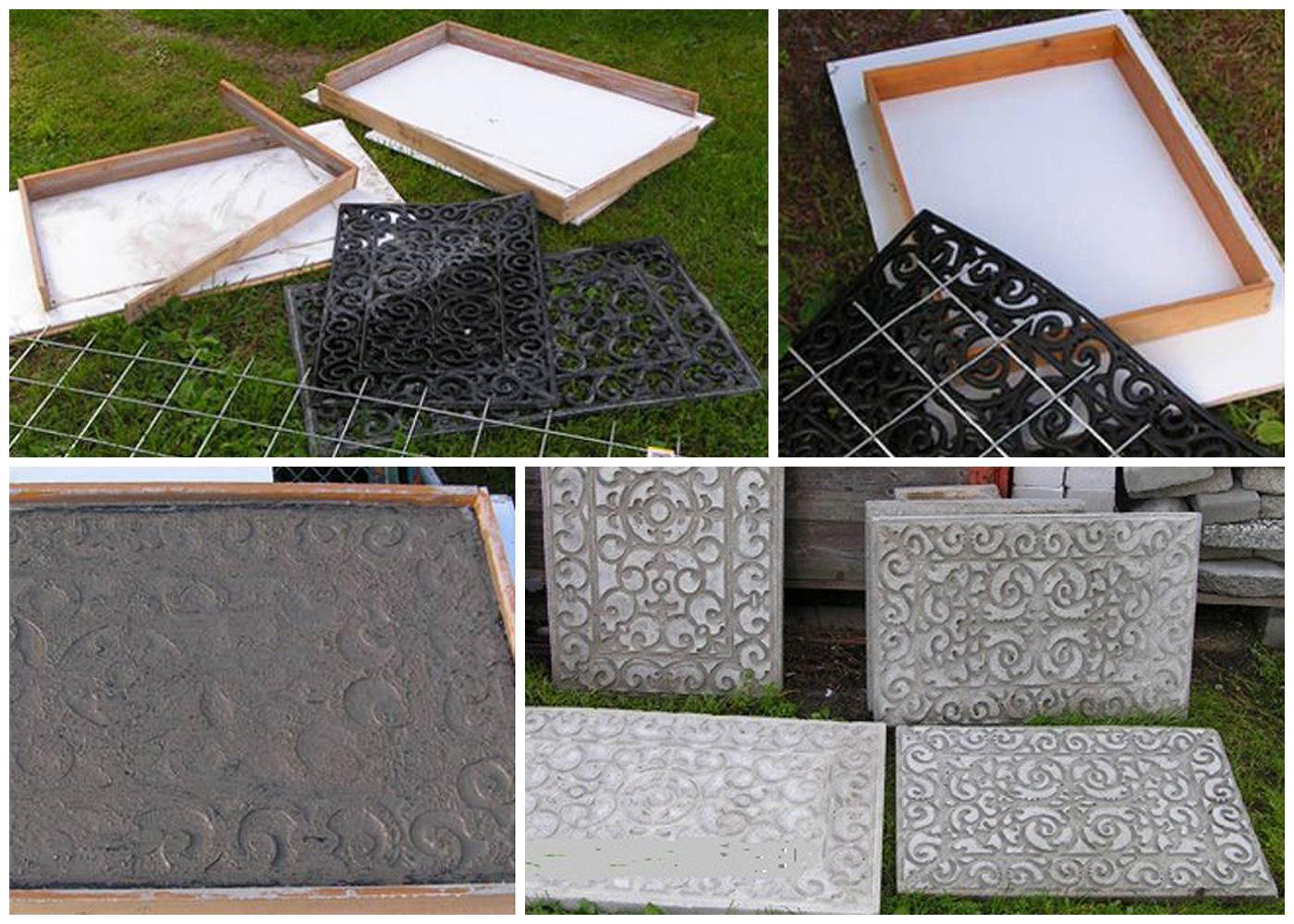 формы для заливки плитки из дерева