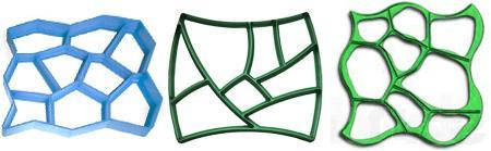 формы для заливки садовых дорожек 3