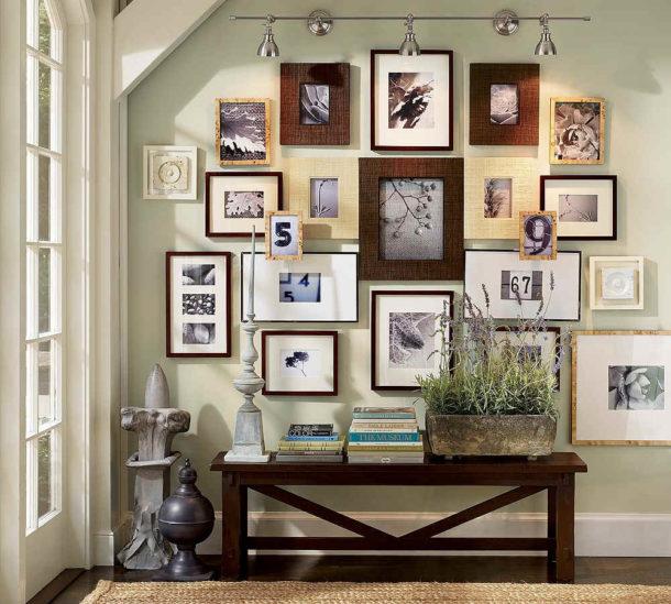 Фотографии в интерьере: 8 советов по размещению на стенах