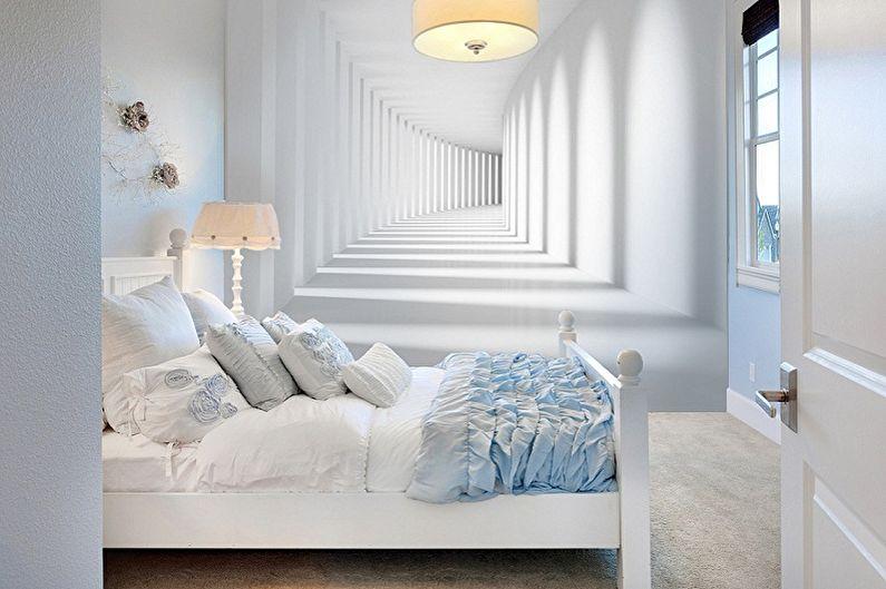 фотообои в интерьере спальни