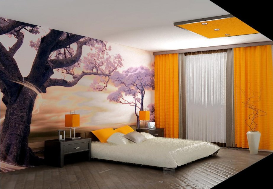 10 материалов для отделки стен спальни
