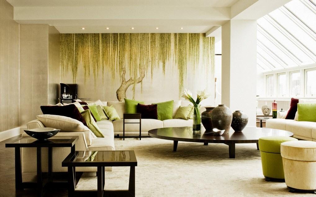 10 материалов для отделки стен гостиной