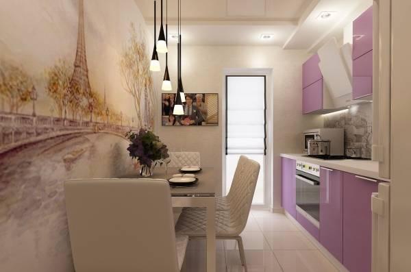 фотообои в интерьере кухни 2