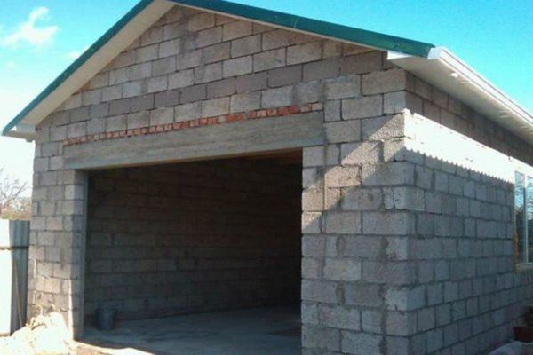 Из чего лучше построить гараж из газобетона или керамзитобетона бетон в 15