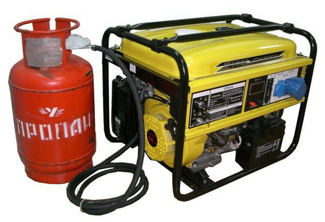 газовый генератор на даче