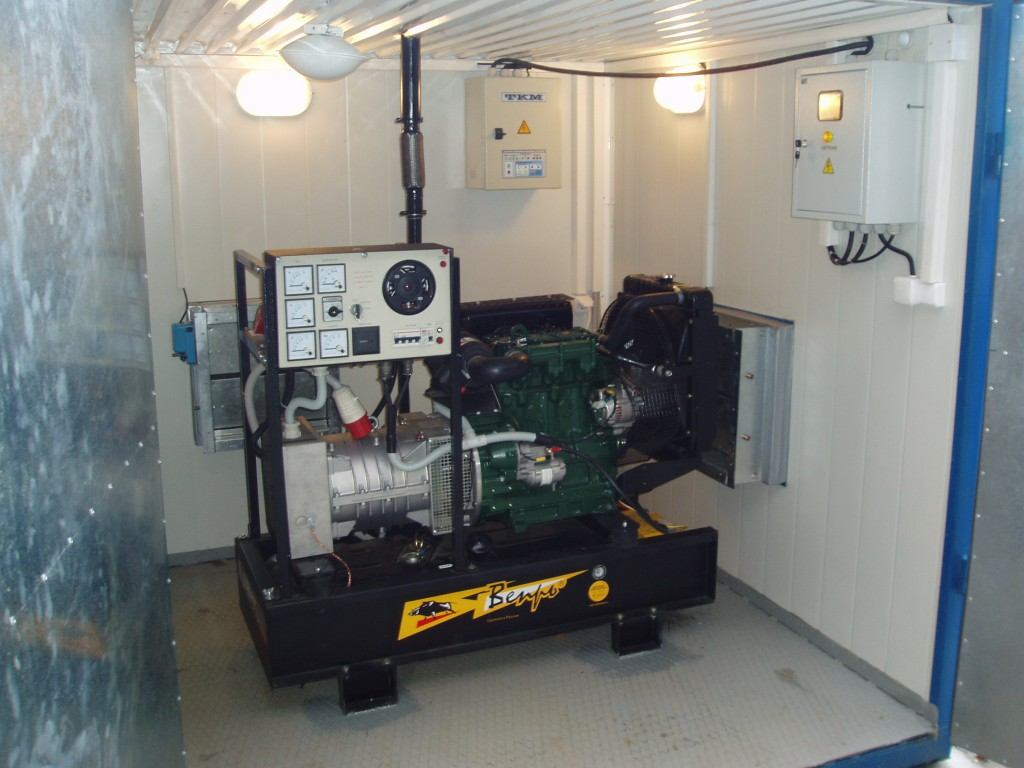 генератор на даче