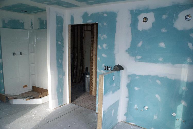 гипсокартон для отделки стен ванной комнаты