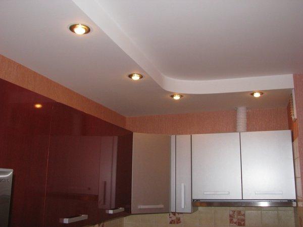 гипсокартон для потолка на кухне