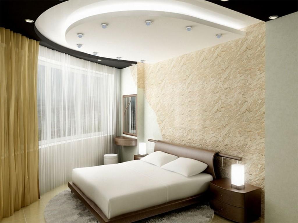 гипсокартон для потолка в спальне