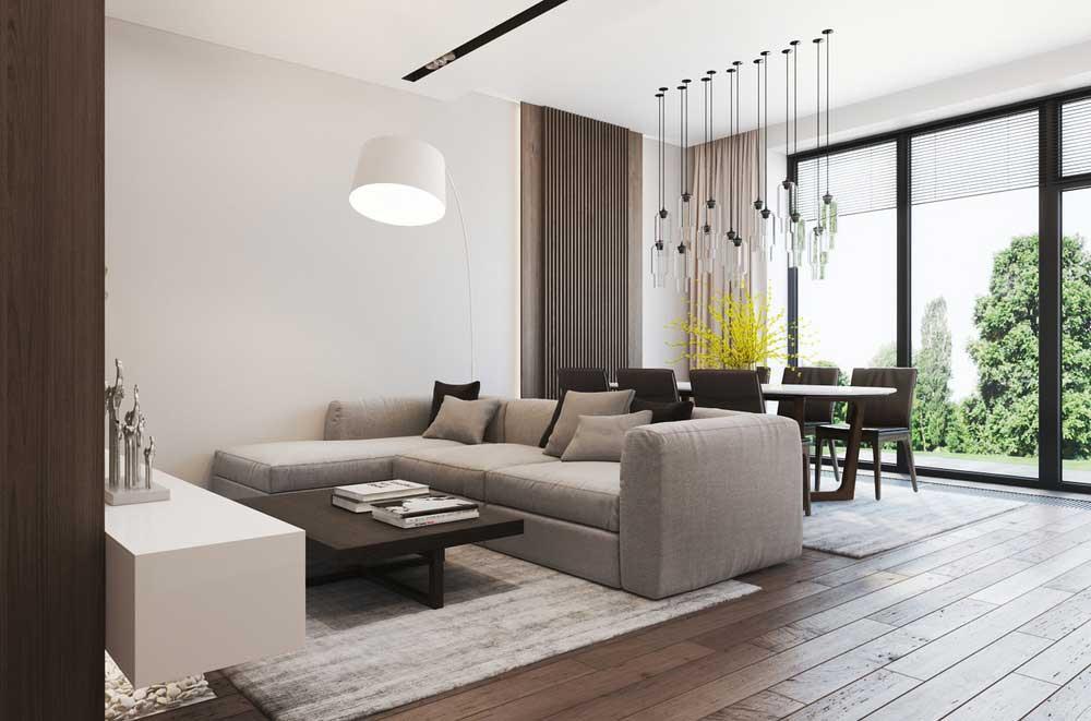 Расположение мебели в гостиной (зале)