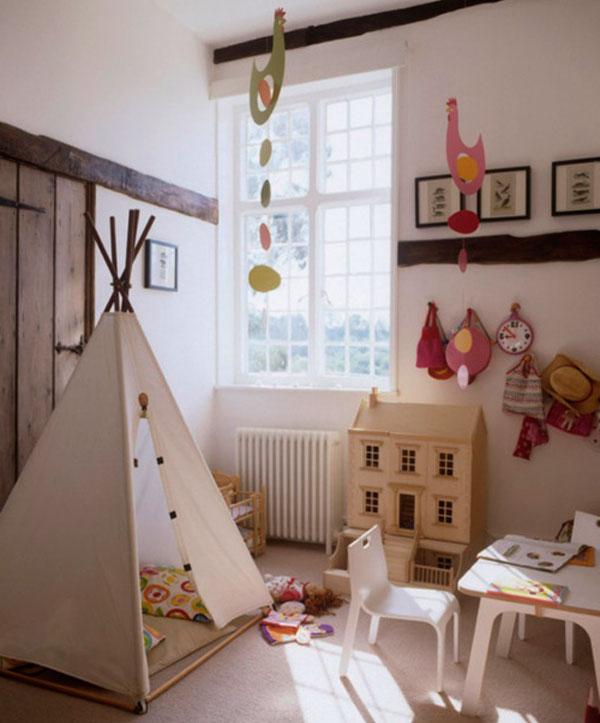 игровая зона в детской комнате 2
