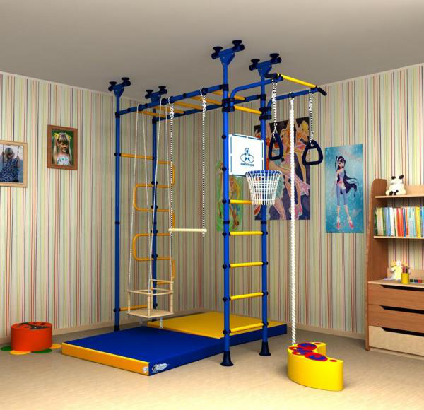 игровая зона в детской комнате 4