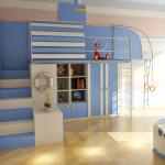 игровая зона в детской комнате 5