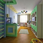 игровая зона в детской комнате 6