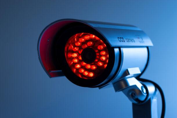 Камера уличного видеонаблюдения с ночным видением (ИК-подсветкой)