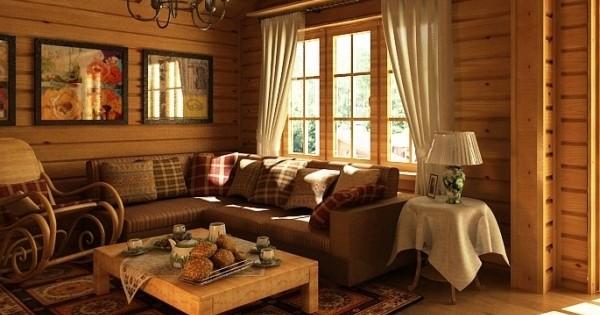 6 советов по организации интерьера дачного дома + фото