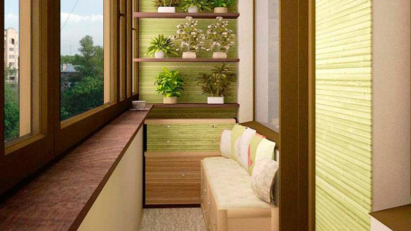 Идеи обшивки балконов