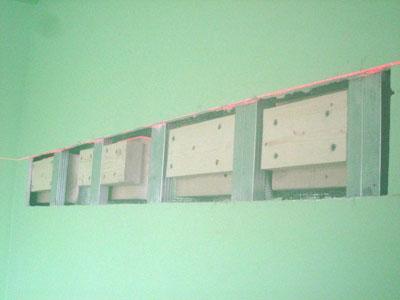 Как повесить на стену из гипсокартона шкаф, телевизор, полку и другую тяжесть