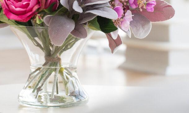 правильная ваза для букета цветов