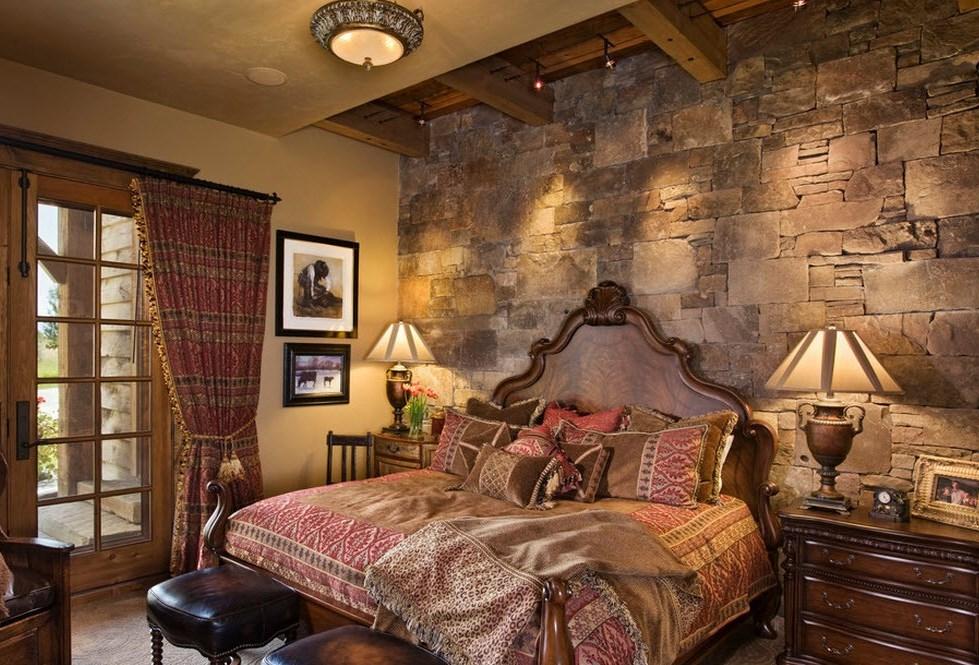 камень для стен спальни 2