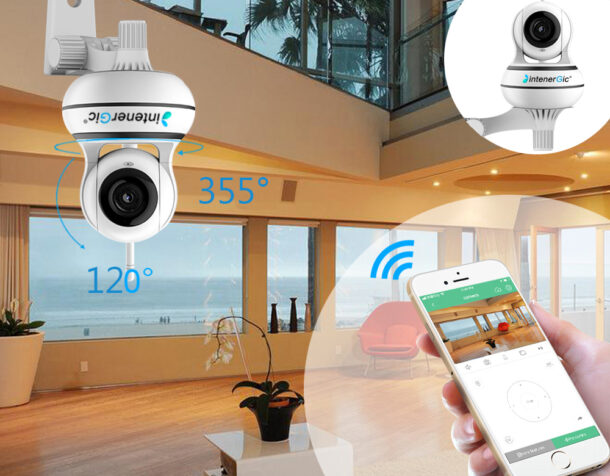 беспроводная камера для квартиры