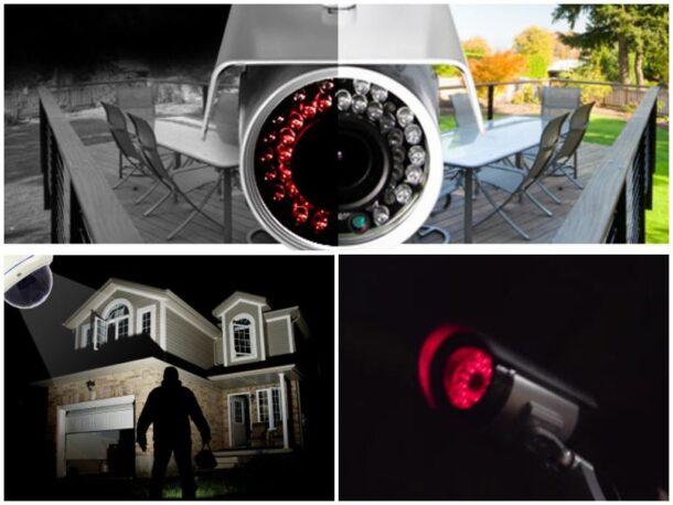 камера ночного видеонаблюдения для дома