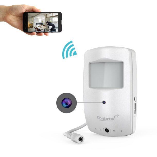 видеокамера с датчиком движения и записью видео