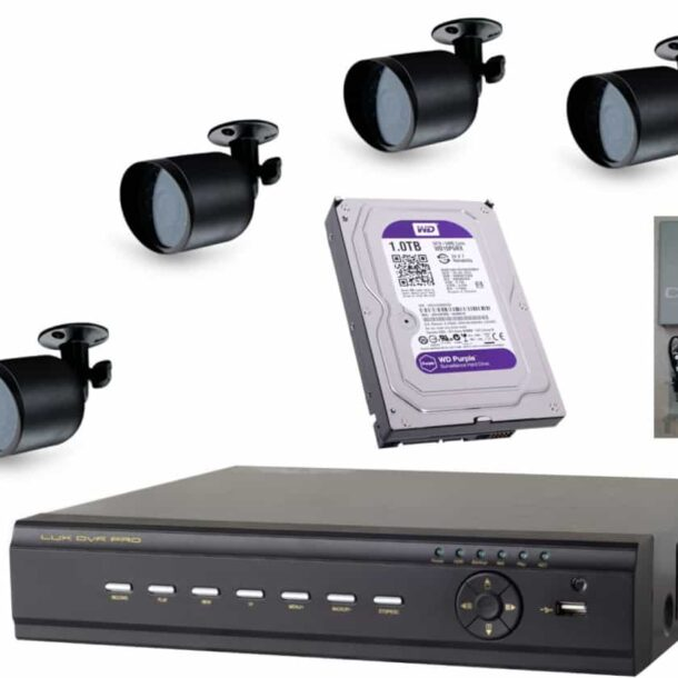 Камера уличного видеонаблюдения с записью