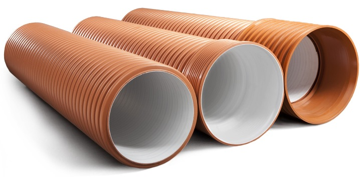 канализационные трубы наружные ПВХ