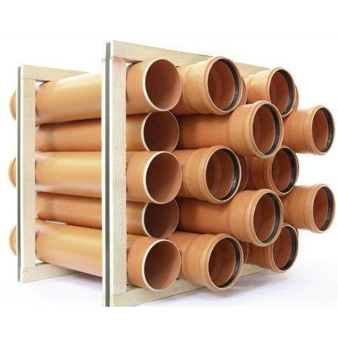 канализационные трубы наружные диаметр