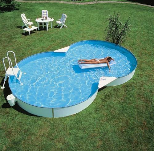 каркасный бассейн большой