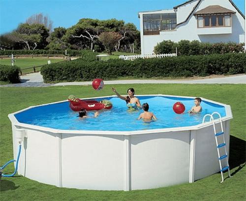каркасный бассейн секционный