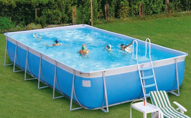 каркасный бассейн сезонный
