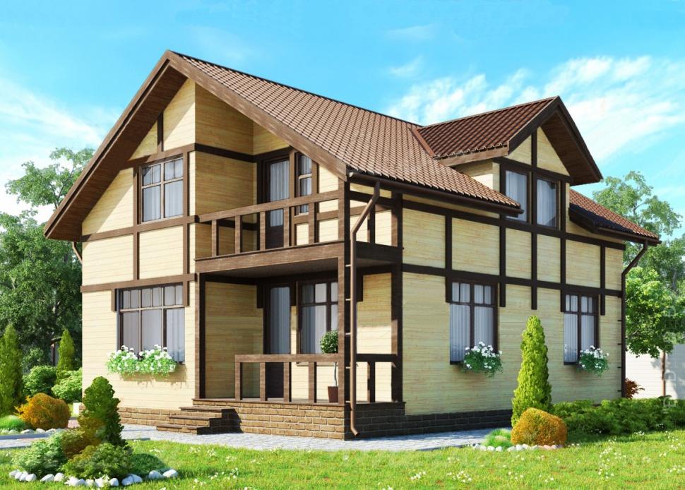 каркасный дом 2