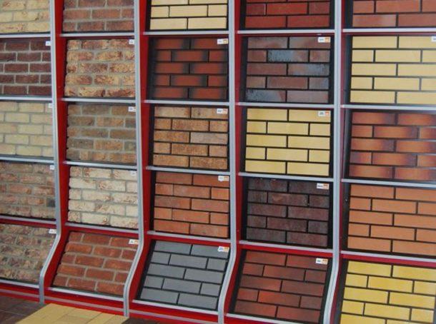Керамическая фасадная плитка для отделки