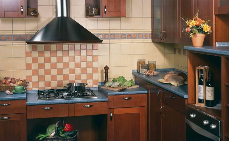 керамическая плитка для стен кухни 2