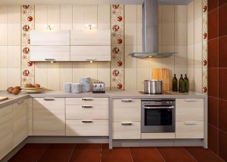 керамическая плитка для стен кухни