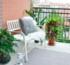керамическая плитка на балконе