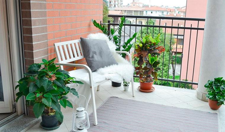 Отделка пола на балконе и лоджии