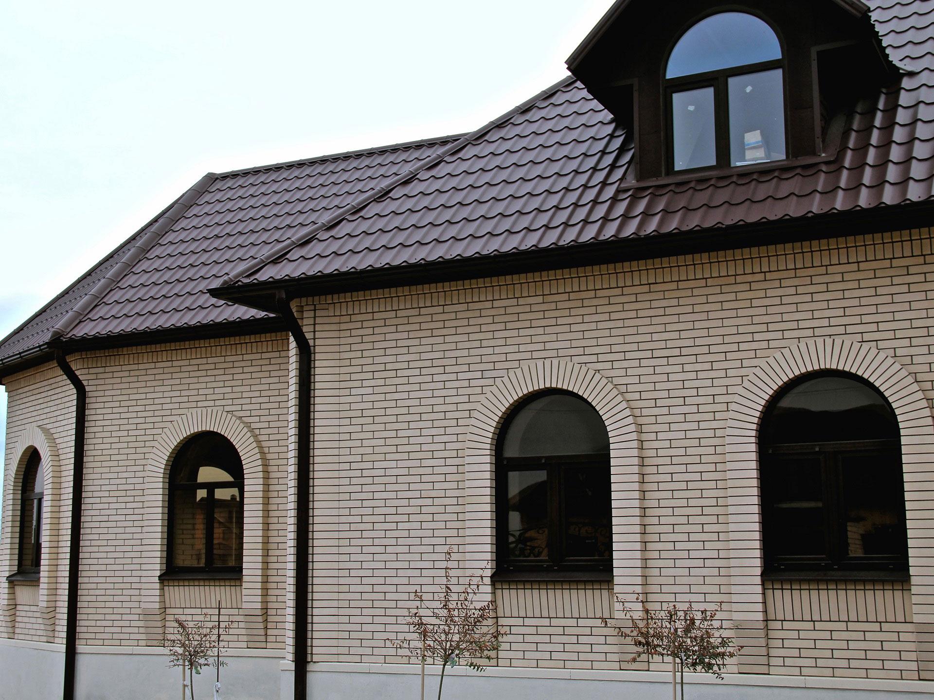 керамический кирпич для фасада дома